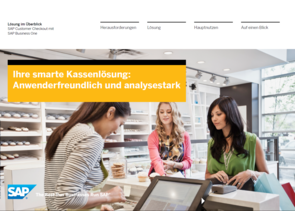 SAP Business One - Customer Checkout - Kasse - POS