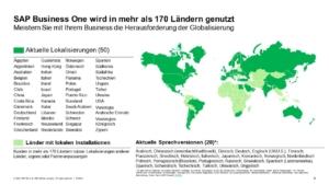 SAP Business One - Lokalisierungen